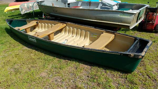 16 FT Square Stern Coleman Scanoe - $450 (Hayward,WI) | Boats For