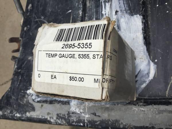 Photo 1953 1954 1955 Ford F 100 pickup truck temperature gauge - $35 (Pepin)