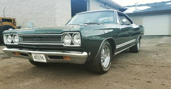 Photo 1968 Plymouth GTX 440ci Numbers Matching - $52995