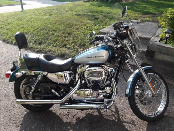 Photo 2004 Harley Davidson Sportster Custom 1200cc - $5,500 (Shoreview)