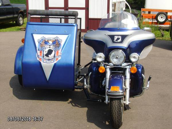 Photo 2007 Harley Davidson Ultra  Handicap Sidecar - $14,000 (Menomonie)