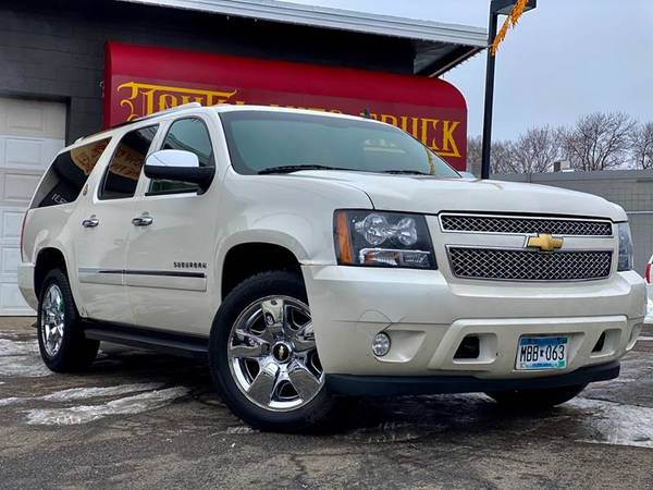 Photo 2010 Chevrolet Suburban 1500 LTZ Diamond Edition - $9999 (Tonka Auto  Truck GUARANTEED CREDIT APPROVAL)