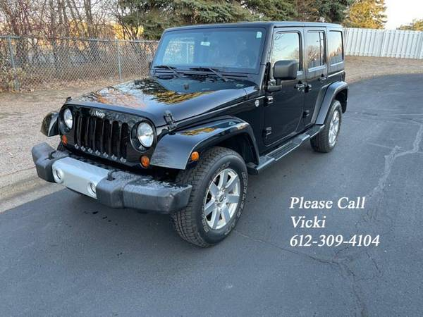 Photo 2012 Jeep Wrangler Unlimited Sport 4D V6  One Owner - Black - $23,995 (Best Offer)
