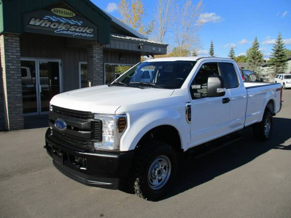 Photo 2018 ford f250 f-250 extended cab long box 4x4 gas 6.2 4wd - $34,995 (HWY 8 Forest Lake MN)