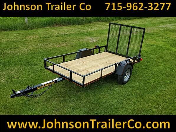 Photo 4.539 x 939 Sport Warrior Single-Axle Utility Trailer - $1,110 (Colfax)