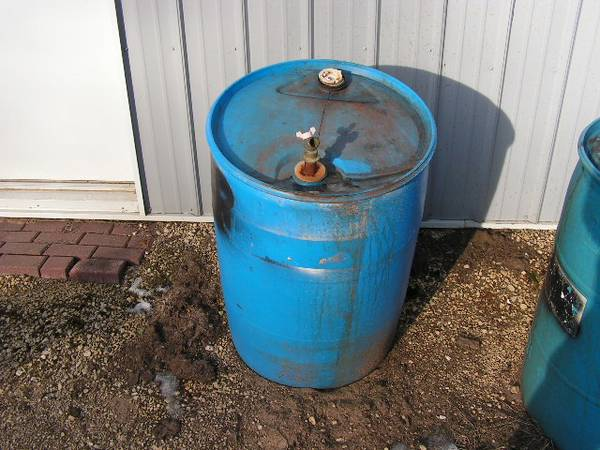 Photo 55 Gallon drums of Creosote - $175