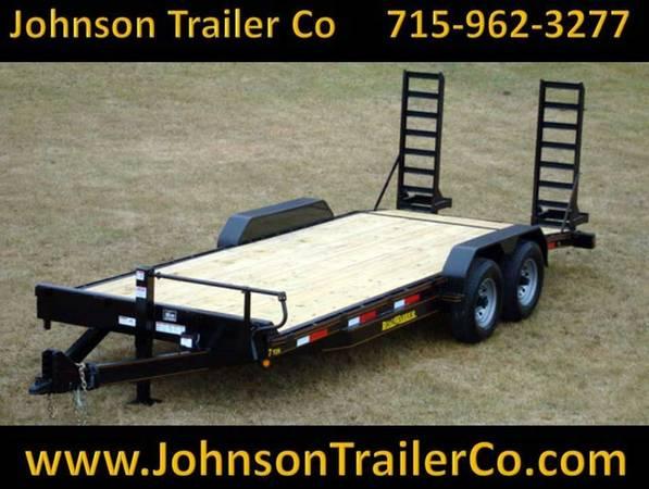 Photo 83quot x 2039 Road Warrior 7-Ton EquipmentSkidsteer Trailer - $4,527 (Colfax)