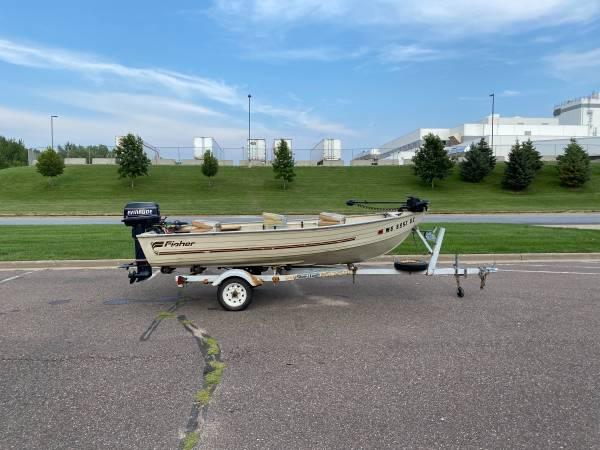 Photo 89 Fisher 14Aluminum Boat - $2,600 (Eau Claire)