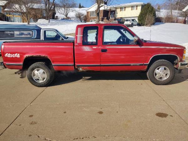 Photo 91 Chevy Silverado 1500 4x4 Extended Cab - $2500 (Independence)