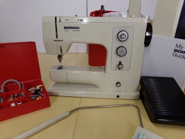 Photo Bernina Reord 830 Sewing Machine - $600 (Rice lake)