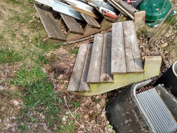 Photo Could used RV or mobile home steps - $30 (Ellsworth)