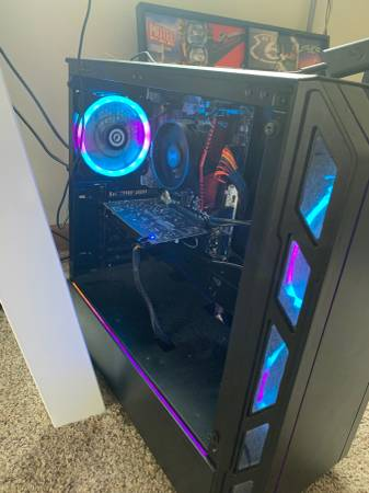 Photo Cyber power gaming pc setup with monitor and more - $575 (Rice lake)