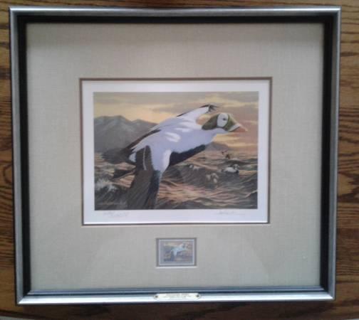Photo Framed Federal Duck St Print 1992-1993 - $100 (Fall Creek)