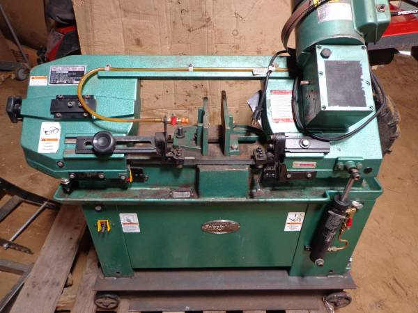 Photo METAL CUTTING BAND SAW GRIZZLY - $695 (ELK MOUND)