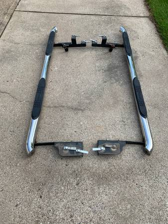 Photo Nerf bars step pipes - $70 (Eau claire)