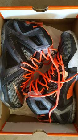 Photo Nike Lebron 12, Air Max, Asics, New Balance, Puma Size 8 Mens (Menomonie)