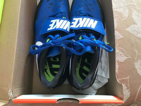 Photo Nike Track throwing shoes- mens size 9 or womens size 10.5 - $25 (Hallie)