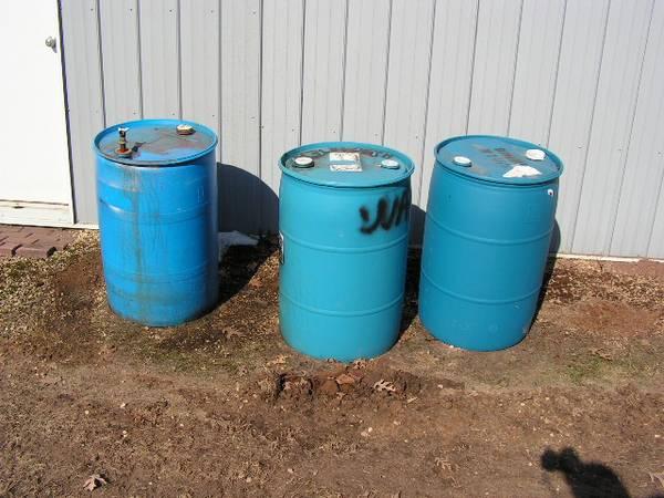 Photo REDEUCED- 55 Gallon drums of Creosote - $90 (EC  Mondovi)