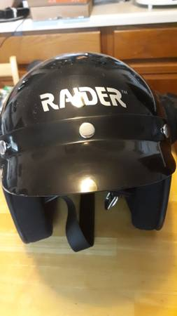 Photo Raider Large Motorcycle Helmet - $30 (Chippewa Falls)