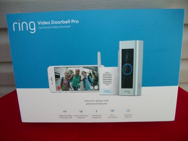 Photo Ring Video Doorbell Pro -NEW in Box - $120 (Chippewa Falls)