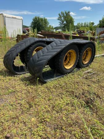 Photo Rubber Tracks for 236 Cat Skid Steer - $850 (Ridgeland, WI)