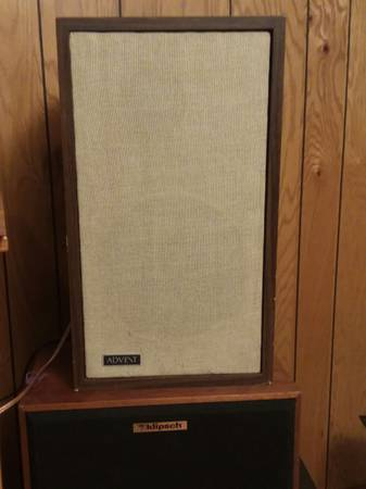 Photo Smaller Advent speakers - $150 (Eau Claire)