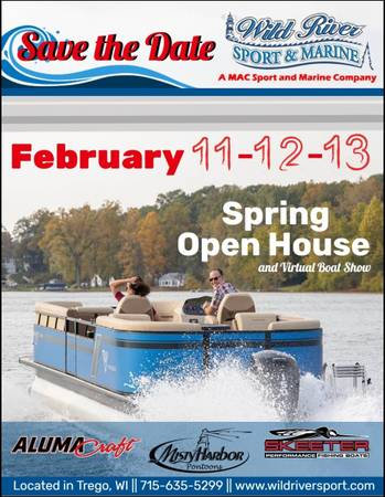 Photo Spring Open House  Virtual Boat Show (Trego)