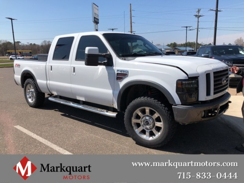 Photo Used 2008 Ford F250 4x4 FX4 for sale