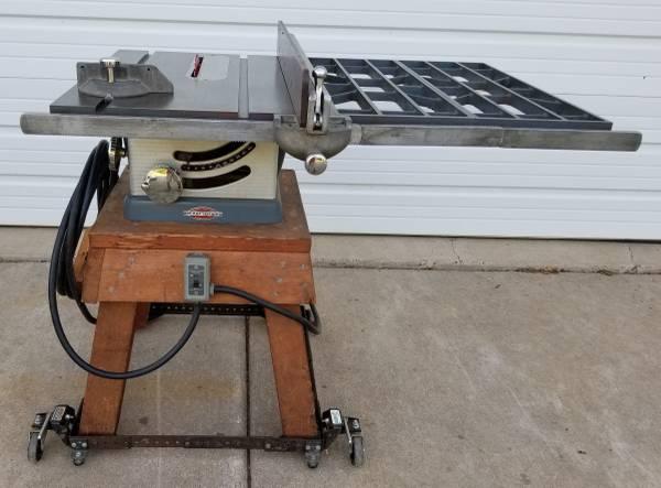 Photo Vintage Craftsman 10quot Table Saw - $340 (Chetek)