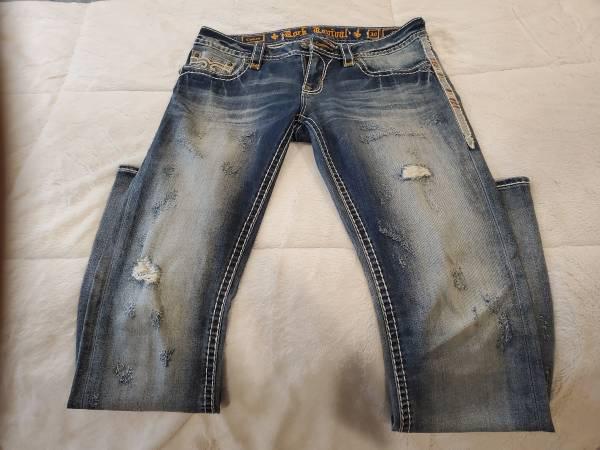 Photo Women39s Rock Revival Jeans - $70