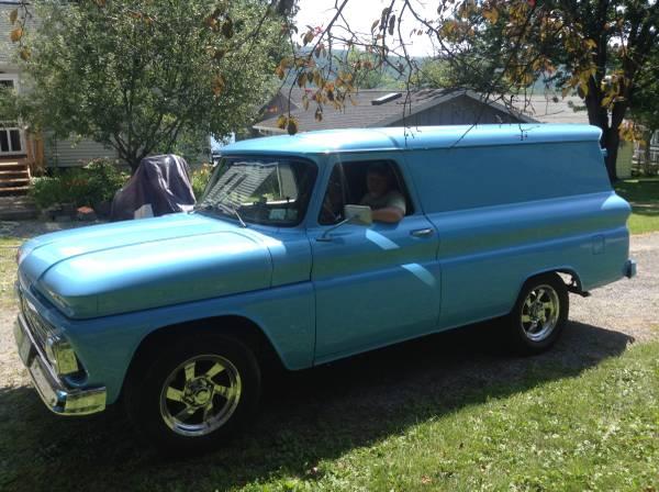 Photo 1966 panel delivery truck - $25000 (Honeoye)