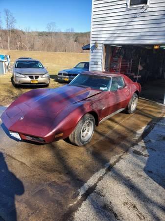 Photo 1974 Corvette stingray - $6895 (Elmira)