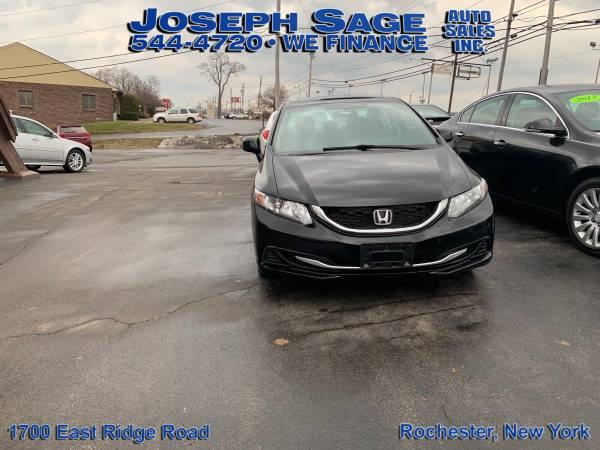Photo 2013 Honda Civic - Payments start at $99 down plus tax sale (Joseph Sage Auto Sales Inc.)