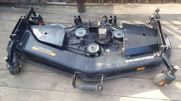 Photo 60quot Mowing Deck Cub Cadet Yanmar MM60Rse - $800 (Lindley)