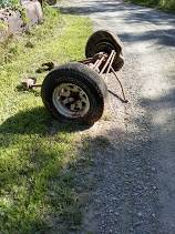 Photo 73-79 ford f 150 4x4 front ,rear - $175 (Covington)