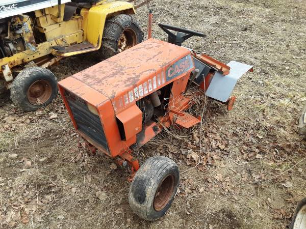Photo Case 210 garden tractor - $75 (Mansfield pa)