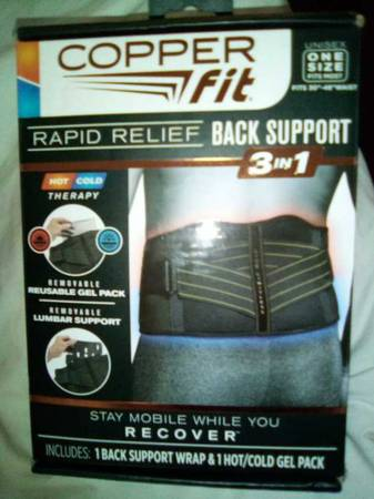 Photo Copper Fit,back support - $25 (Waverly.my.14892)