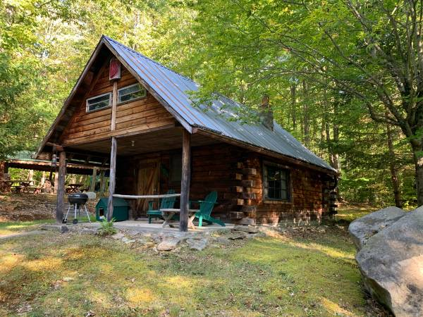 Photo Custom-Built CABIN with PAVILION in Bolivar NY Ball Road (Bolivar, NY)