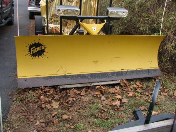 Photo Fisher Snow Plow - $2,500 (addison)