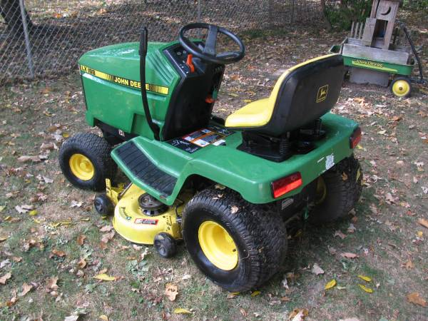 Photo JOHN DEERE LX 188 WITH SNOW PLOW SYSTEM - $1,295 (PAINTED POST NY)