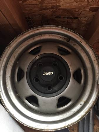 Photo Jeep Wrangler TJ Factory Rims - $150 (Sayre, PA.)