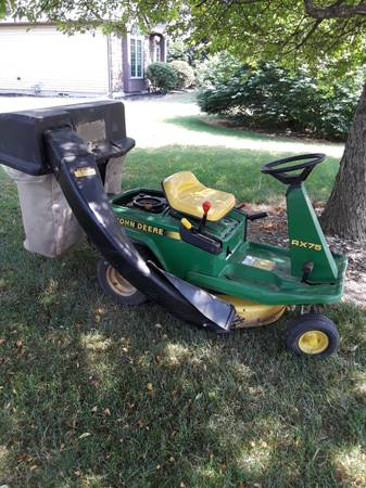 Photo John Deere RX75 Riding Mower - $650 (Horseheads)