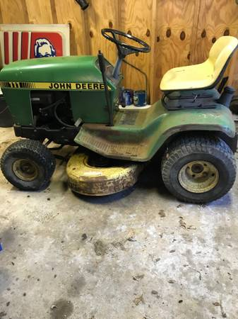 Photo John deer mower - $600 (Corning)