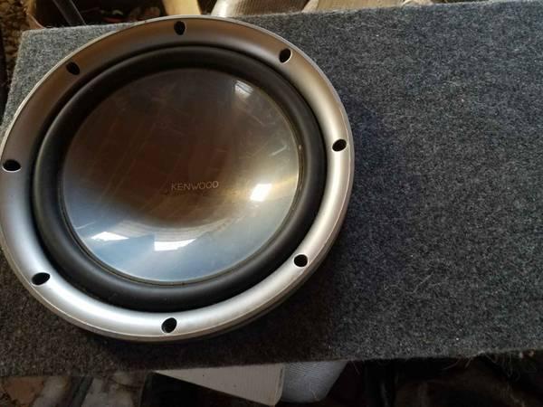 Photo Kenwood Fierce Audio 12 Inch Sealed Shallow Mount Subwoofer - $170 (Painted Post, NY)