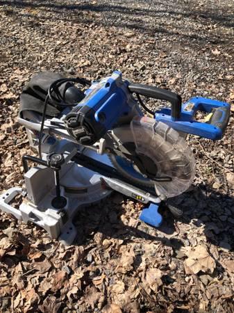 Photo Kobalt 10 in 15  miter saw - $150 (Watkins glen)