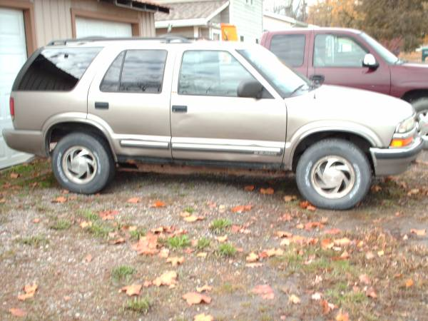 Photo Lk 2001 Chevy Blazer 4wd $1500 (PRICE LOWERED) - $1,500 (Athens PA)