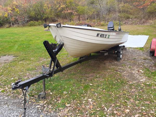 Photo Mirrocraft 16ft aluminum boat - $3,000 (Middlesex)