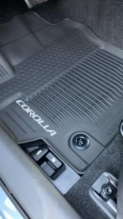 Photo Toyota Corolla all weather liner pkg. Floor mats  trunk cargo tray - $150 (Corning)