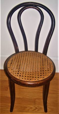 Photo Vintage child39s wicker seat chair, art deco l - $25 (Williamsport, Pa.)
