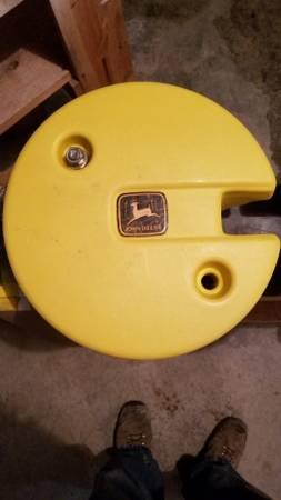 Photo Wheel Weights John Deere - $55
